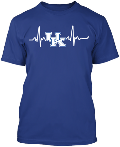 Kentucky Wildcats Heartbeat