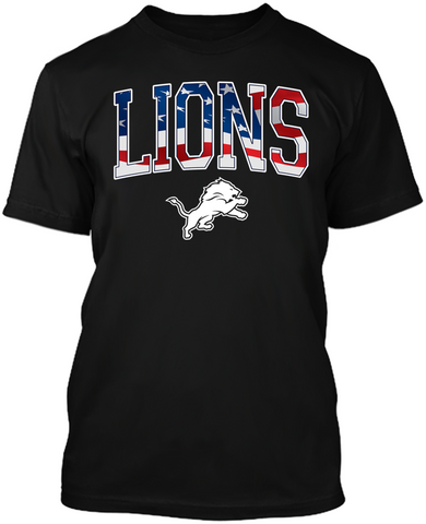 Detroit Lions Stars & Stripes
