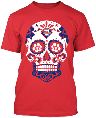 Philadelphia Phillies - Skull
