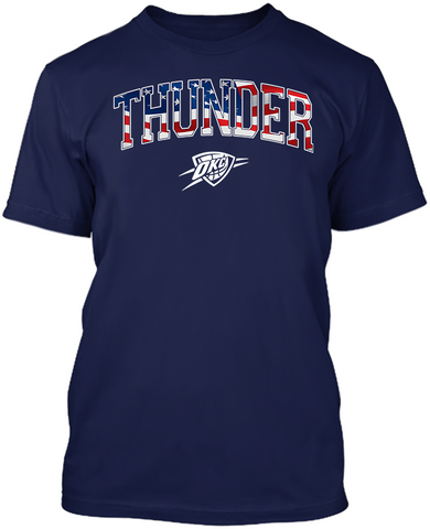 OKC Thunder Stars & Stripes