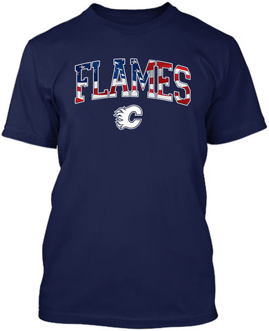 Calgary Flames Stars & Stripes