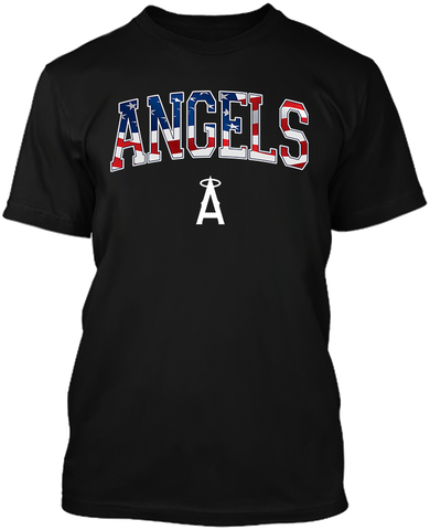 LA Angels Star & Stripes
