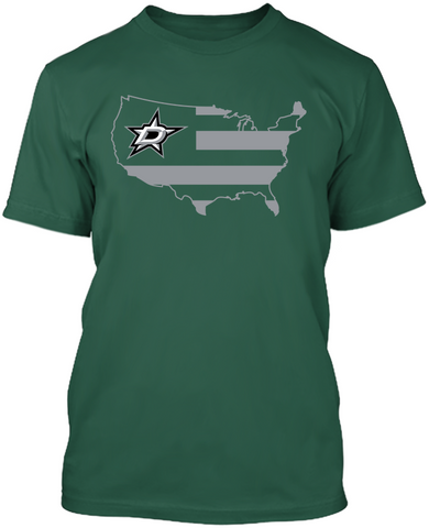 Dallas Stars - Broad Stripes