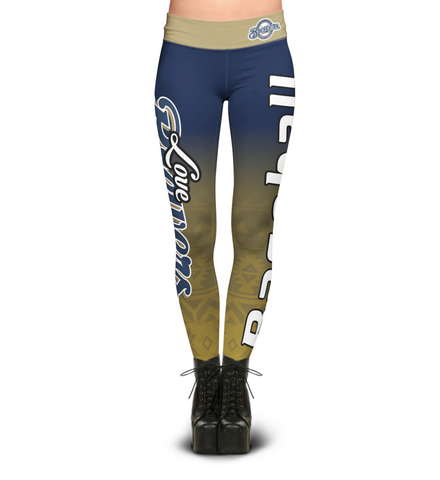 Love Milwaukee Brewers Leggings