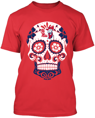 University of Mississippi Rebels - Skull