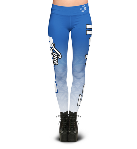 Love Indianapolis Colts Leggings