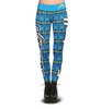San Diego Chargers Aztec Print Leggings