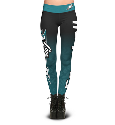 Love Philadelphia Eagles Leggings