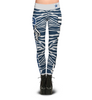 Dallas Cowboys Zebra Print Leggings