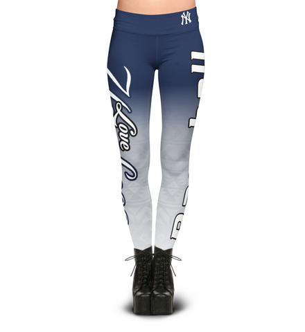 Love New York Yankees Leggings