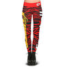Kansas City Chiefs Zebra Print Leggings