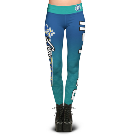 Love Seattle Mariners Leggings