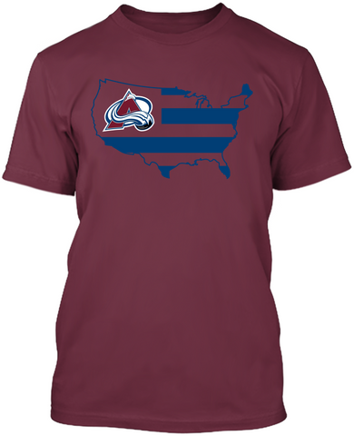 Colorado Avalanche - Broad Stripes