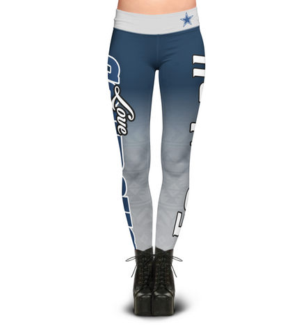 Love Dallas Cowboys Leggings
