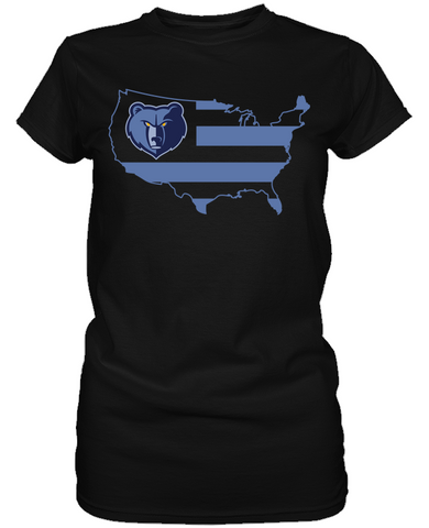 Memphis Grizzlies - Broad Stripes