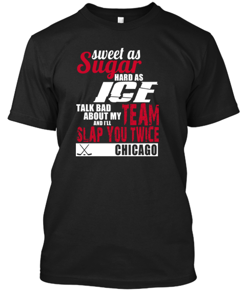 Chicago Blackhawks Sweet As Sugar