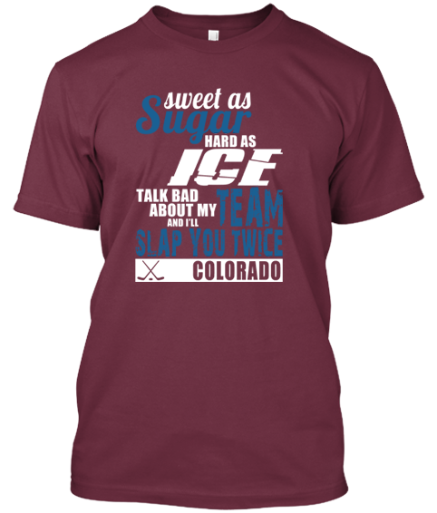 Colorado Avalanche Sweet As Sugar