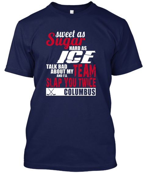 Columbus Blue Jackets Sweet As Sugar