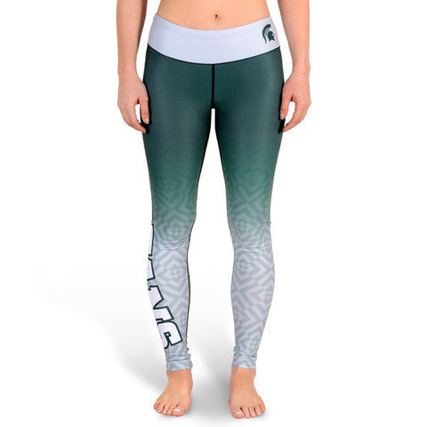 Love Michigan State Spartans Leggings