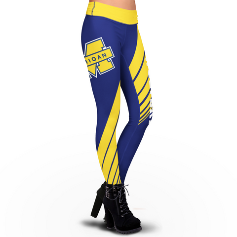 Michigan Wolverines Dynamic Sublimation Leggings