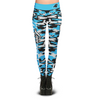 Carolina Panthers Camo Print Leggings