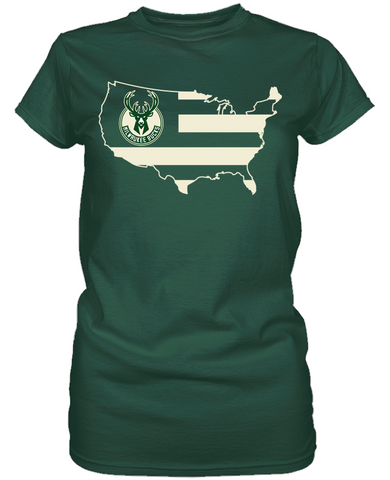 Milwaukee Bucks - Broad Stripes