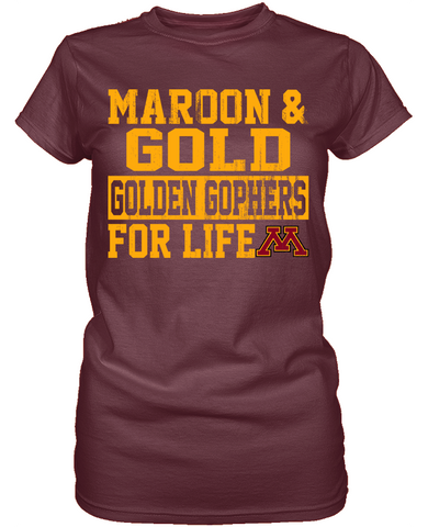 For Life 2 - Minnesota Golden Gophers