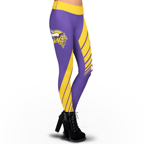 Minnesota Vikings Dynamic Sublimation Leggings