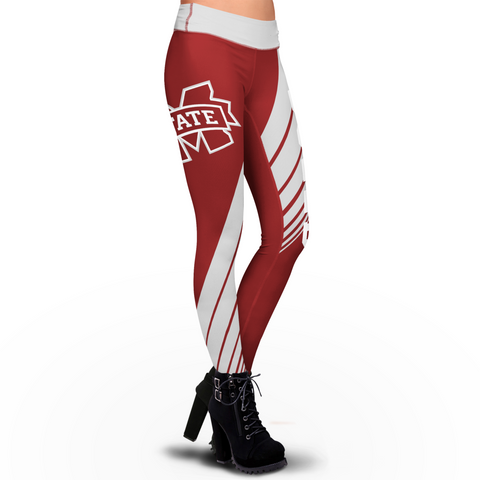 Mississippi State Bulldogs Dynamic Sublimation Leggings