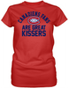 Montreal Canadiens Are Great Kissers