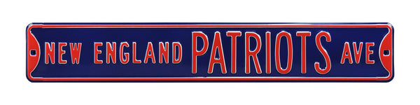 New England Patriots Ave Sign