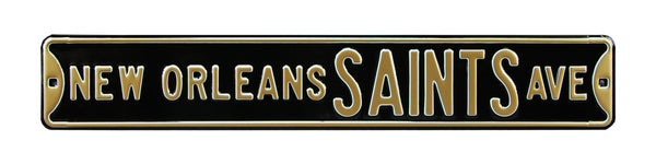 New Orleans Saints Ave Sign