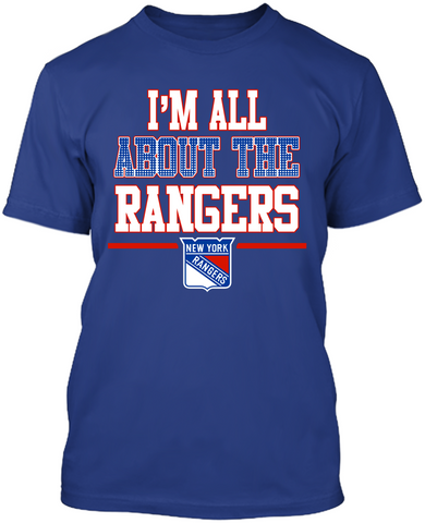 I'm All About The New York Rangers