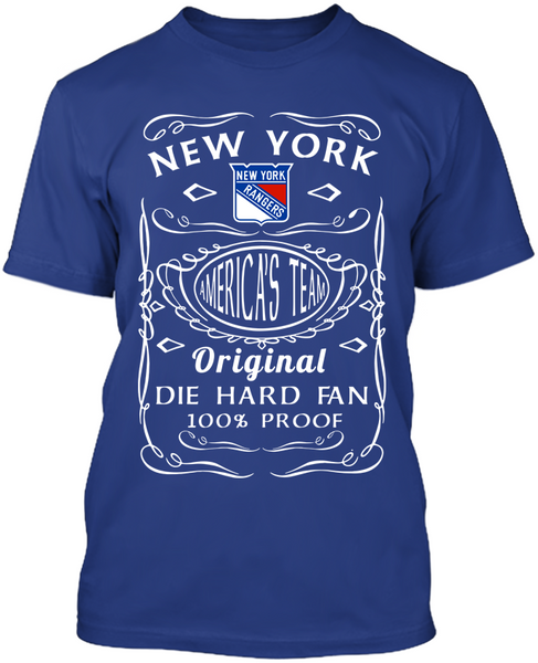 New York Rangers Die Hard Fan