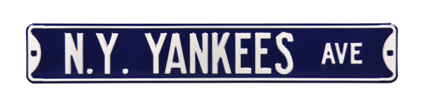 New York Yankees Ave Sign