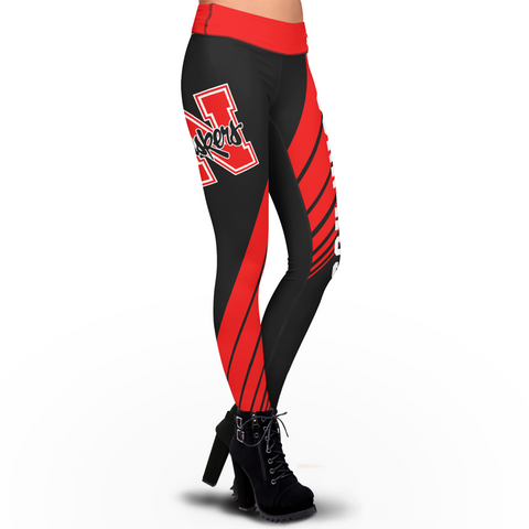 Nebraska Cornhuskers Dynamic Sublimation Leggings
