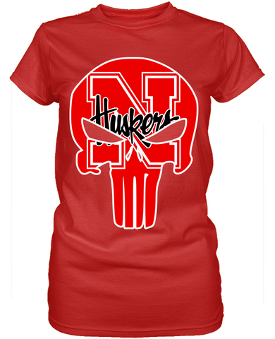 Nebraska Cornhuskers Punisher