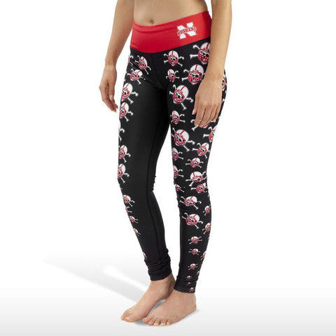 Nebraska Cornhuskers Thematic Print Leggings