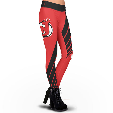 New Jersey Devils Dynamic Sublimation Leggings