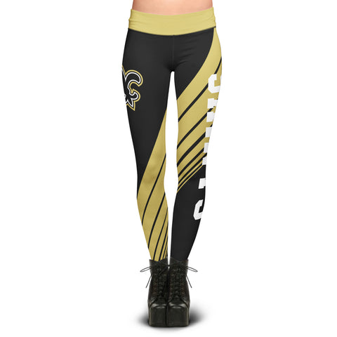 New Orleans Saints Dynamic Sublimation Leggings