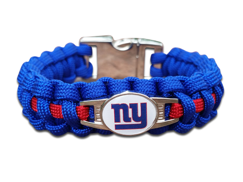 New York Giants Paracord Bracelet