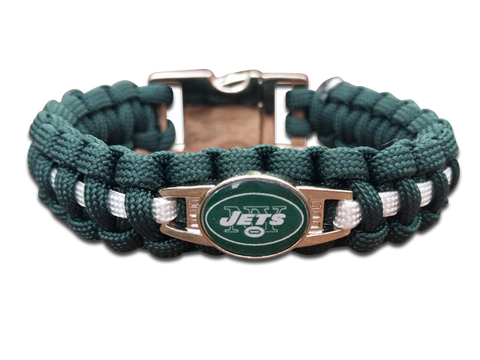 New York Jets Paracord Bracelet