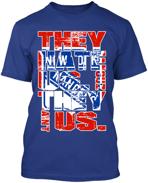 They Hate Us New York Rangers