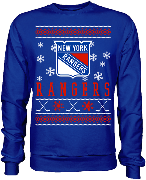 New York Rangers Holiday Sweater