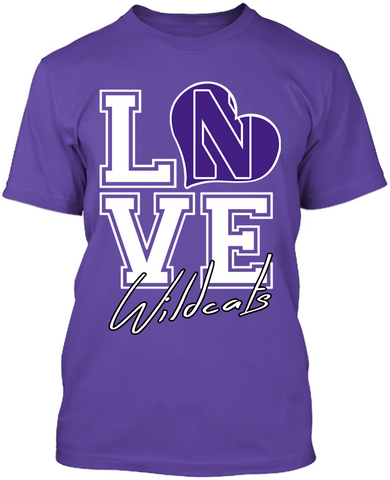 Love - Northwestern Wildcats