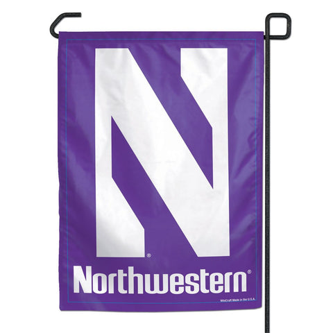 "Northwestern 11"" x 15"" Garden Flag"