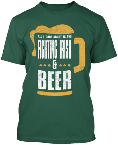 Fighting Irish & Beer
