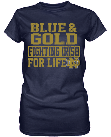 For Life 2 - Notre Dame Fighting Irish