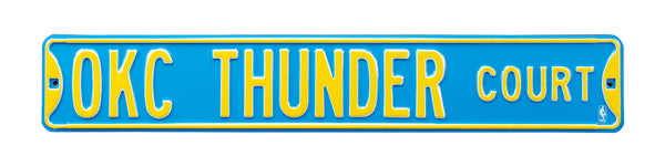 Oklahoma City Thunder CT Sign