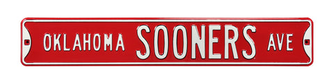 Oklahoma Sooners Man Cave Sign